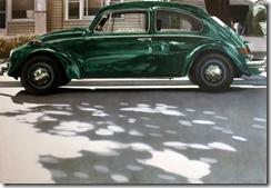 Volkswagen-Verde-1971-Óleo-sobre-lienzo-Don-Eddy