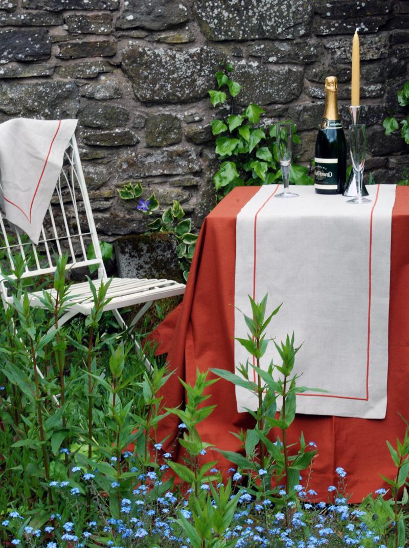 Oval tablecloths