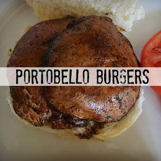 Portobello Veggie Burger Recipes