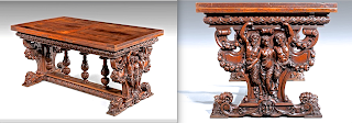 Изумительный антикварный раскладной стол. ок.1850 г. 150-250/86/76 см. 26000 евро.