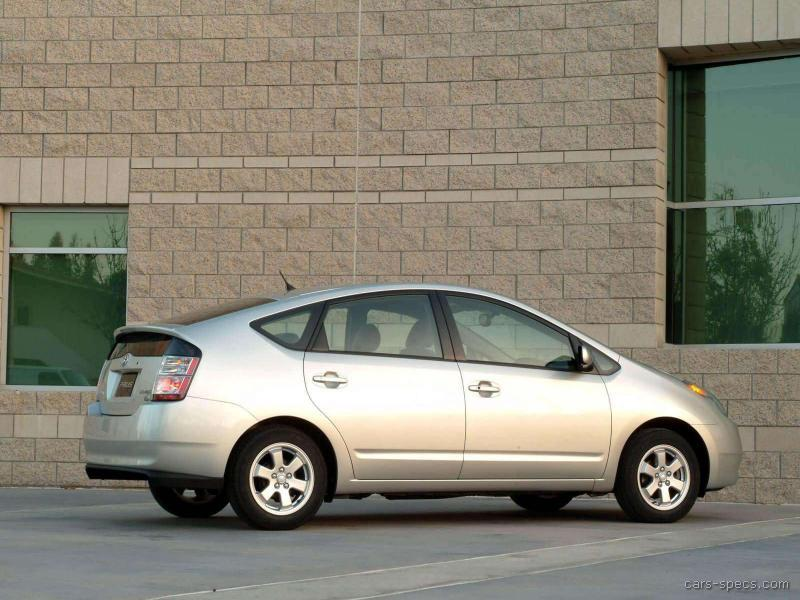 2004 toyota prius hatchback specifications pictures prices. Black Bedroom Furniture Sets. Home Design Ideas