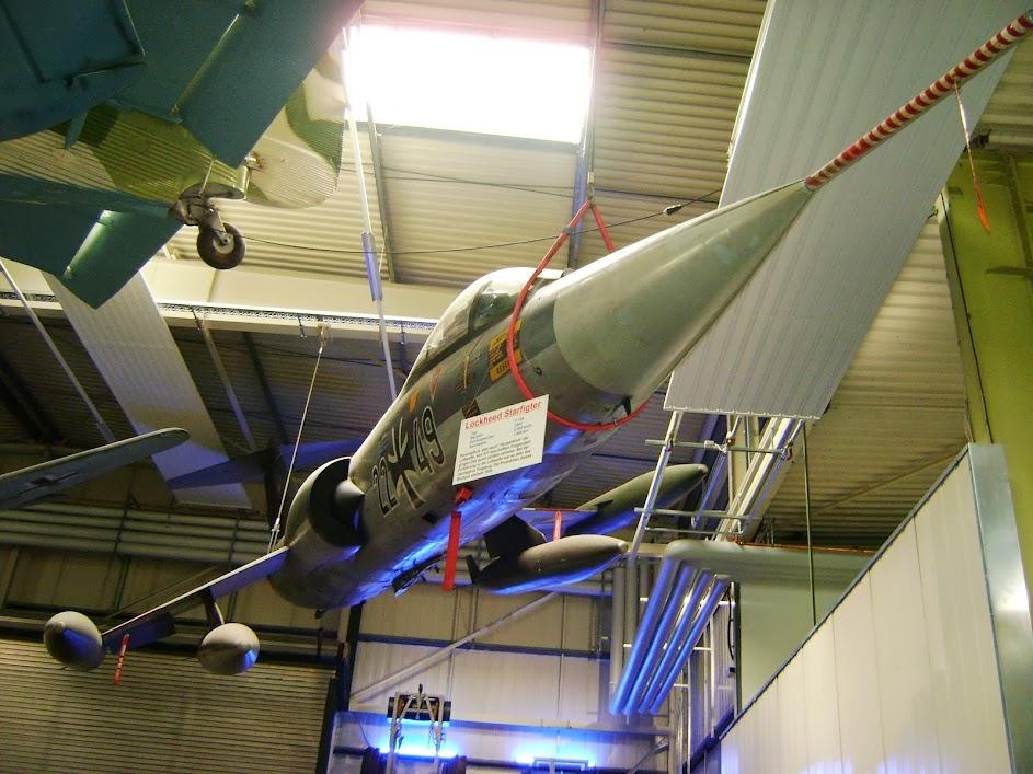 Starfighter sowohl in Speyer als auch Sinsheim mehrfach ausgestellt