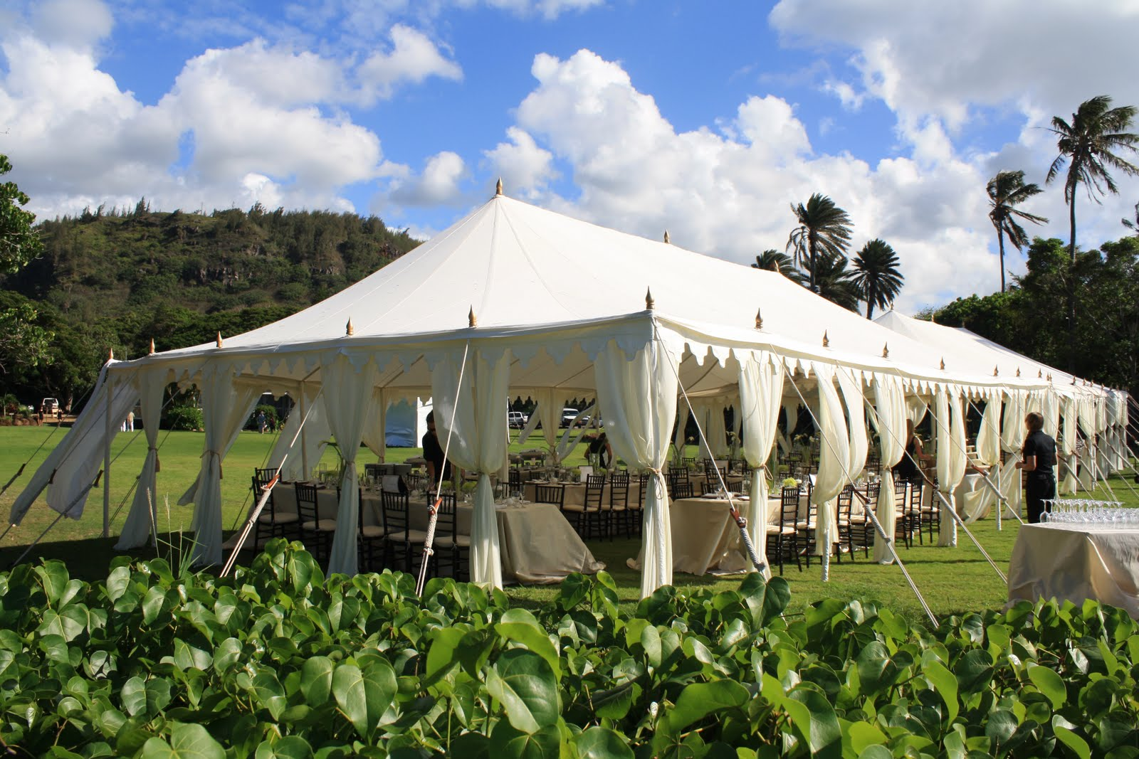 Raj Tents are obviously easy