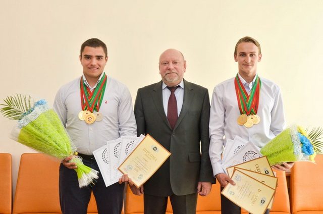 В УДПУ імені Павла Тичини зустрічали студентів-переможців Чемпіонату Світу та Європи