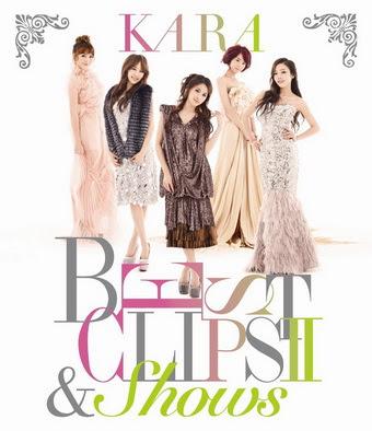 [MUSIC VIDEO] KARA BEST CLIPS II & SHOWS (2012/02/29)