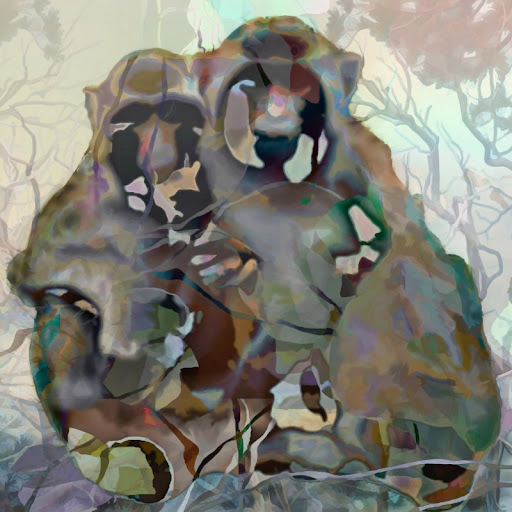 """The """"Monkey Love"""" piece from the """"2011"""" collection"""