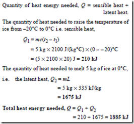 """6 04 heat of fusion of ice Heat of fusion for ice 