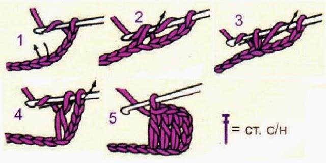 Вязание крючком для начинающих ссн