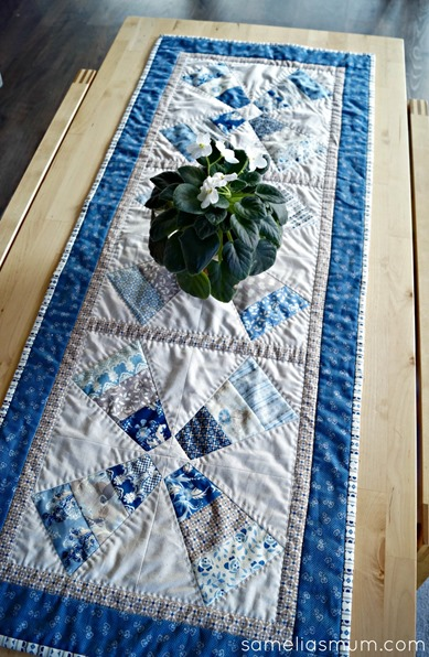 Forget Me Not - Table Runner