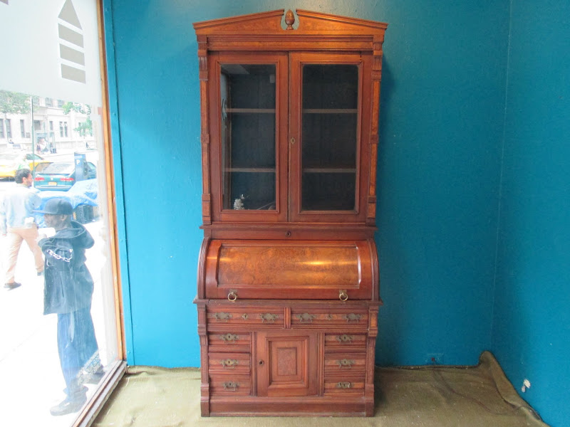 Rolltop Desk and Cabinet