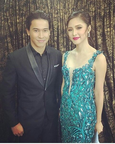 Enchong Dee and Kim Chiu