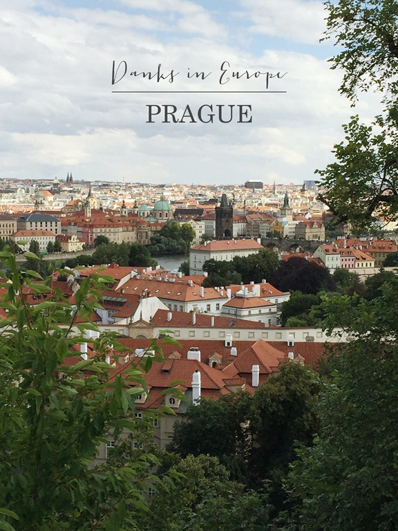 Danks in Europe  - Prague