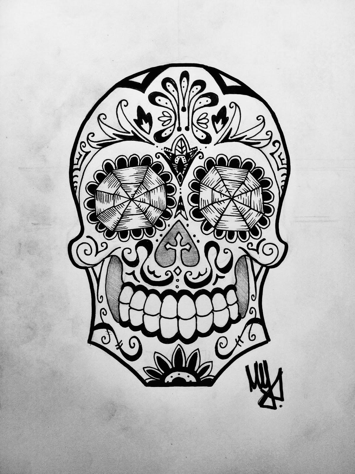 Disegni a mano for Teschi da disegnare