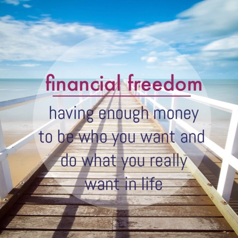 one half of a third tips for financial freedom in your 20s