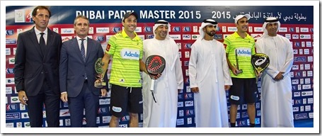Dubai WPT 2015 ya luce sus campeones: Bela-Lima y gemelas Sáchez Alayeto.