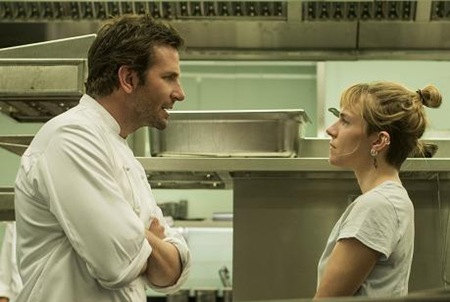 Bradley Cooper and Sienna Miller in Burnt