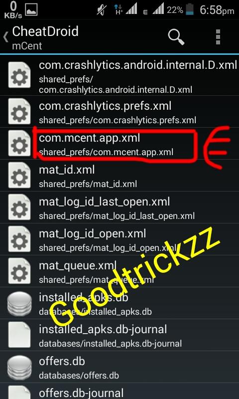 NOW GO TO com.mcent.app.
