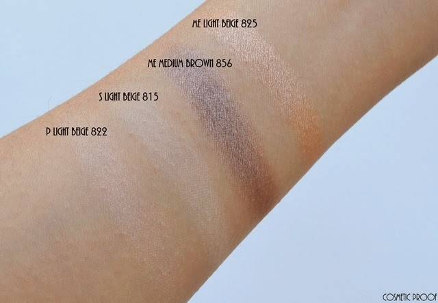 shu uemura 16 shades of nude eyeshadow palette swatches review (6)