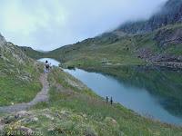 Nördlich von Alpe d'Huez beim Lac Besson.