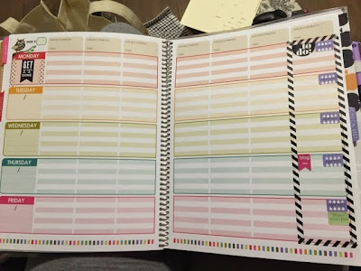 My Erin Condren Planner Customization | Kelsey Fortune | kelseyfortune.blogspot.com
