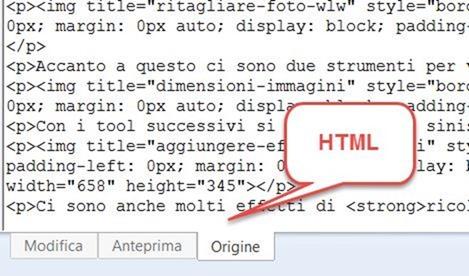 modalità-html