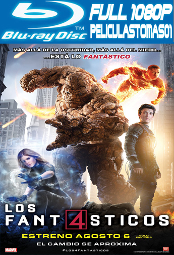 Los 4 Fantásticos (The Fantastic Four) (2015) [BRRipFull 1080p/Dual Latino-ingles]