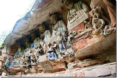 Dazu Rock Carvings - Chongqing 大足石刻 - 重慶