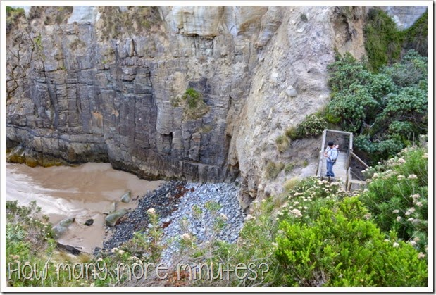 How Many More MInutes? ~ The Remarkable Cave on the Tasman Peninsula