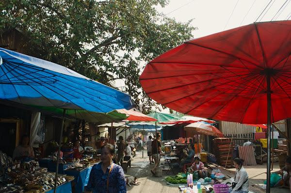 Morning Market в Луанг Прабанге.