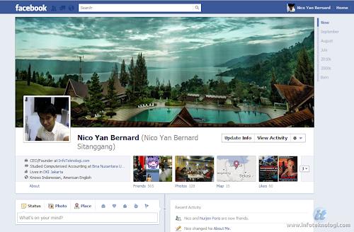profil kronologi facebook