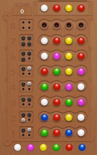 Mastermind Board Game - screenshot