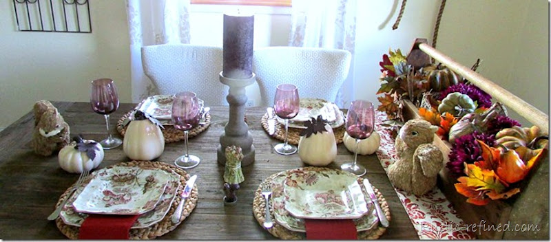 Tablescape Idea for the Fall Season
