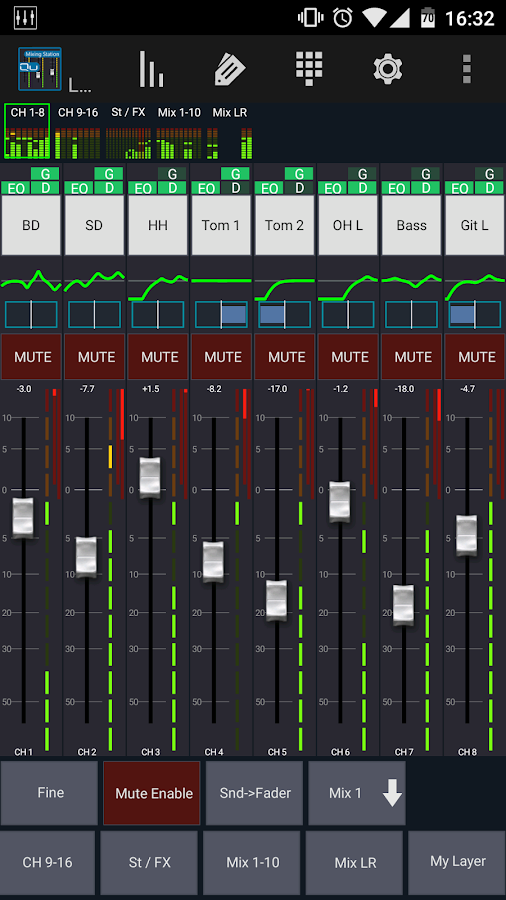 Mixing Station Qu Pro Screenshot 0