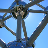 atomium brussels in Brussels, Brussels, Belgium