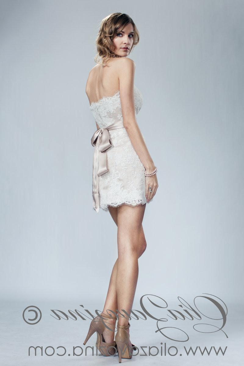 Majesty Short Bridal Gown,