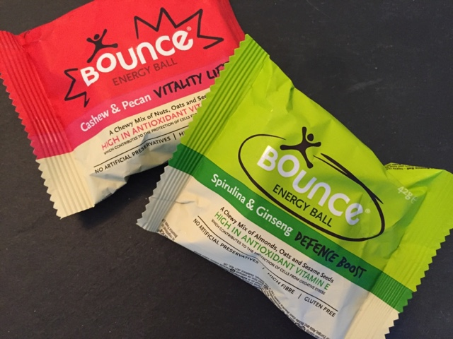 Bounce Energy Balls cashew & pecan and spirulina & ginseng