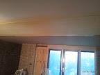 plafond voorgestreken incl pantsergaas (ter voorkoming van krimpscheuren)
