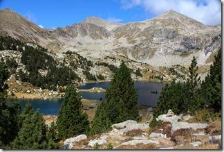 L'Estany Gemena de Baix à 2200 m.