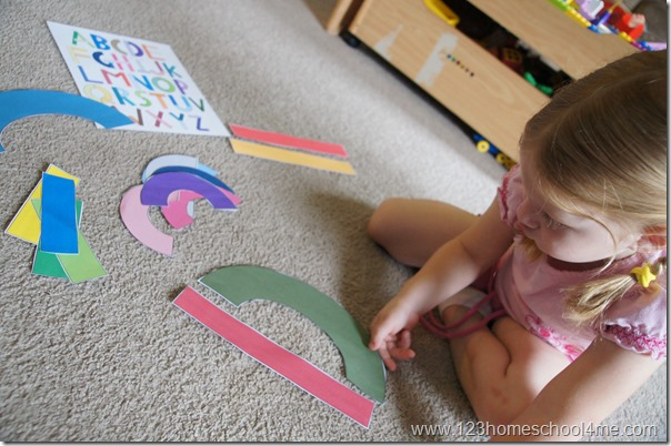hands on alphabet activity for preschool, kindergarten, and 1st grade kdis
