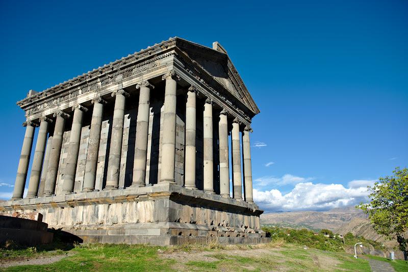 Templul din Garmi, pe drumul de intoarcere.