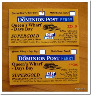 Dominion Post Ferry Tickets