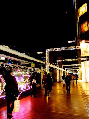 新宿タカシマヤ タイムズスクエアのクリスマスイルミネーション2015ー2016