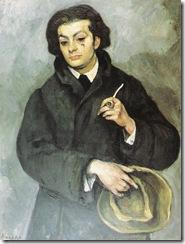 Roman_Kramsztyk_Portrait_Moise_Kisling_1913