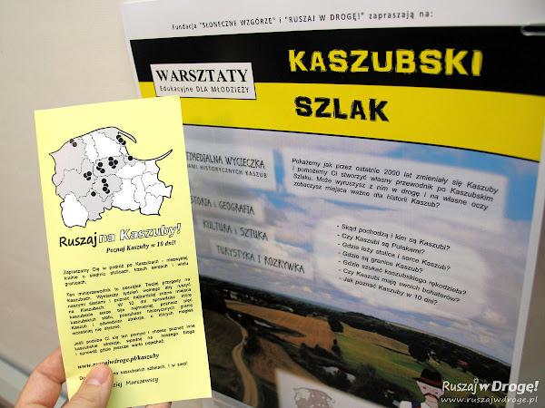 Warsztaty Kaszubski Szlak - poznaj Kaszuby