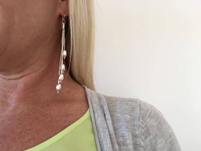 Sydney Fashion Hunter - The Wednesday Pants #39 - Equip Bead & Tassel Earrings