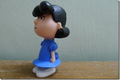 McDonald's happy meal X The Peanuts Movie 2015 toys: Lucy
