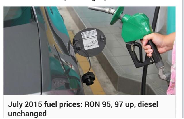 kenaikan harga minyak, petrol