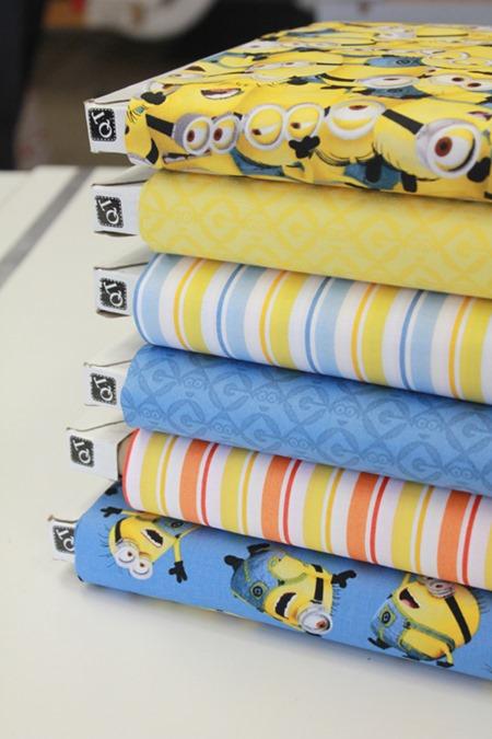 Minions fabric 2