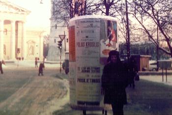 Vilniu, Lithuania, 1976