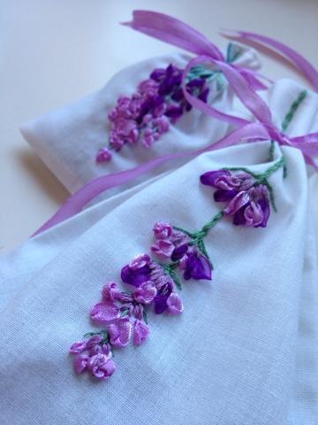 bolsas con lavanda